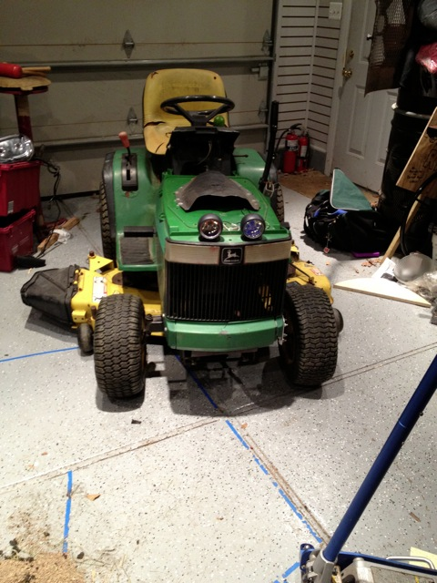 Jd Handmade Creations: My Mower